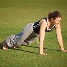 Flexiones y dolor de codo