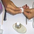 Curas para las uñas dañadas por la acetona