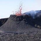 Qué reacción química hace que un volcán entre en erupción