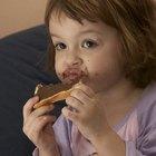 Los niños ¿pueden comer chocolate negro?