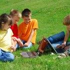 Juegos de exterior para chicos de cinco a siete años