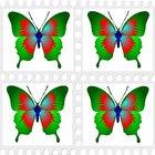 Cómo hacer una cometa mariposa