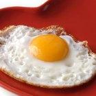 Cuenta calórica en los huevos fritos