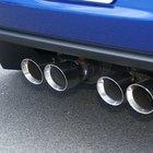 Cómo reparar el silenciador y el sistema de escape de un automóvil