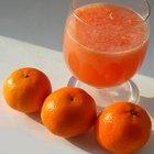 ¿Cuántas calorías tienen las naranjas?