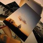 Transferencia de fotografías sobre vidrio de colores