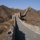 Cómo recorrer caminando toda la longitud de la Gran Muralla China