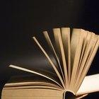 ¿Qué es una página de portada en un libro?
