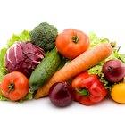 Verduras saludables para comer crudas