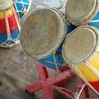 Tipos de materiales de los tambores de los nativos americanos
