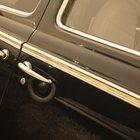 Cómo limpiar y lubricar la ventana de la puerta de un automóvil