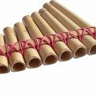 Los tipos de flautas de pan