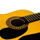 Las diez mejores guitarras acusticas de menos de US$500