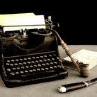 Cómo colocar nuevamente una cinta en una máquina de escribir