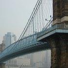 Definición de puente colgante