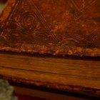 ¿Cómo hacer que una cubierta de libro parezca vieja?