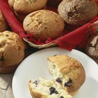 Baking Muffins With White Rice Flour