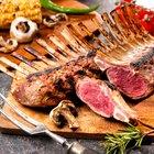 Roasted Rack of Lamb Dinner Menu