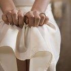 Cómo reducir la electricidad estática en los vestidos