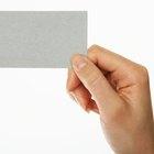Consejos sobre tarjetas de presentación para niñeras