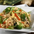 What Are the Health Benefits of Brown Rice and Steamed Vegetables?