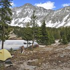 Camping in Flathead Valley, Montana