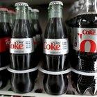 Datos de nutrición y contenido de azúcar de la Coca Cola de dieta