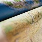 Cómo calcular el azimut en un mapa topográfico