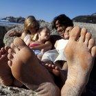 Remedio para las uñas amarillas de los pies