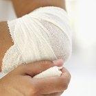 Cómo quitar el vendaje de una herida sin dolor