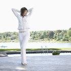 How to Whiten White Polyester Pants