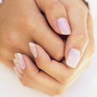 Soak Acrylic Nails off in Nail Polish Remover