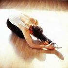 Ejercicios de estiramiento para ballet