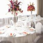 ¿Qué equipo se necesita para un banquete de bodas?