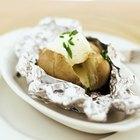 Cómo hornear una patata en papel de plata en un horno tostador