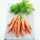 ¿Qué vitaminas se encuentran en las zanahorias?