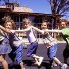 Movimientos de músculos largos para preescolares