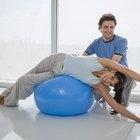 ¿Se puede reparar una bola de fitness?