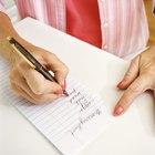 Cómo hacer una lista de cosas positivas y negativas
