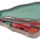 Cómo cambiar las crines de un arco para violín