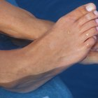 Put Vegetable Oil on Dry Cracked Feet