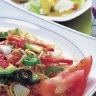 Salsas para pastas con bajos carbohidratos