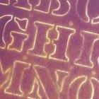Cómo hacer letras de poliestireno