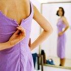 Cómo perder tallas de vestido