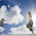 Actividades para niños de saltar la cuerda