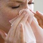 Cómo tratar un resfriado en el ojo