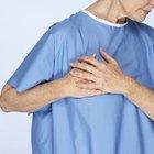 Dolor pulsante en el pecho, con dolor en el brazo izquierdo