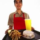 Calorías quemadas trabajando en McDonald's