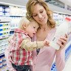 Plan de comidas diarias para un niño de dos años