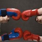 Rostro hinchado luego de boxear